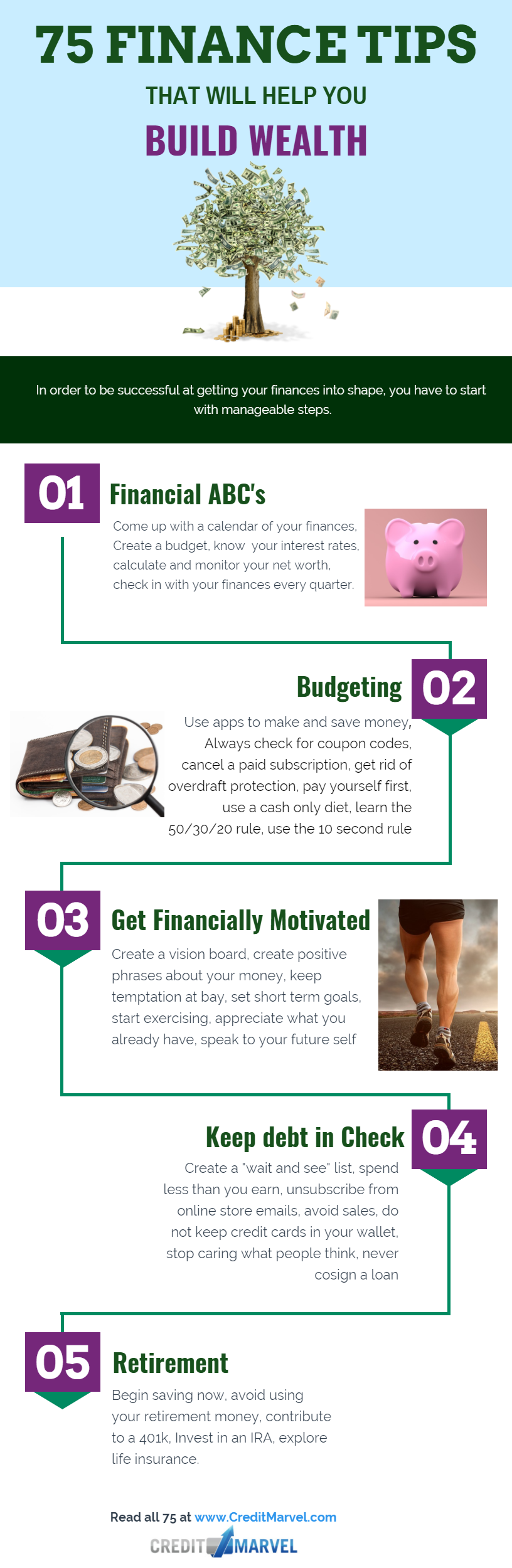 tips to build financial wealth