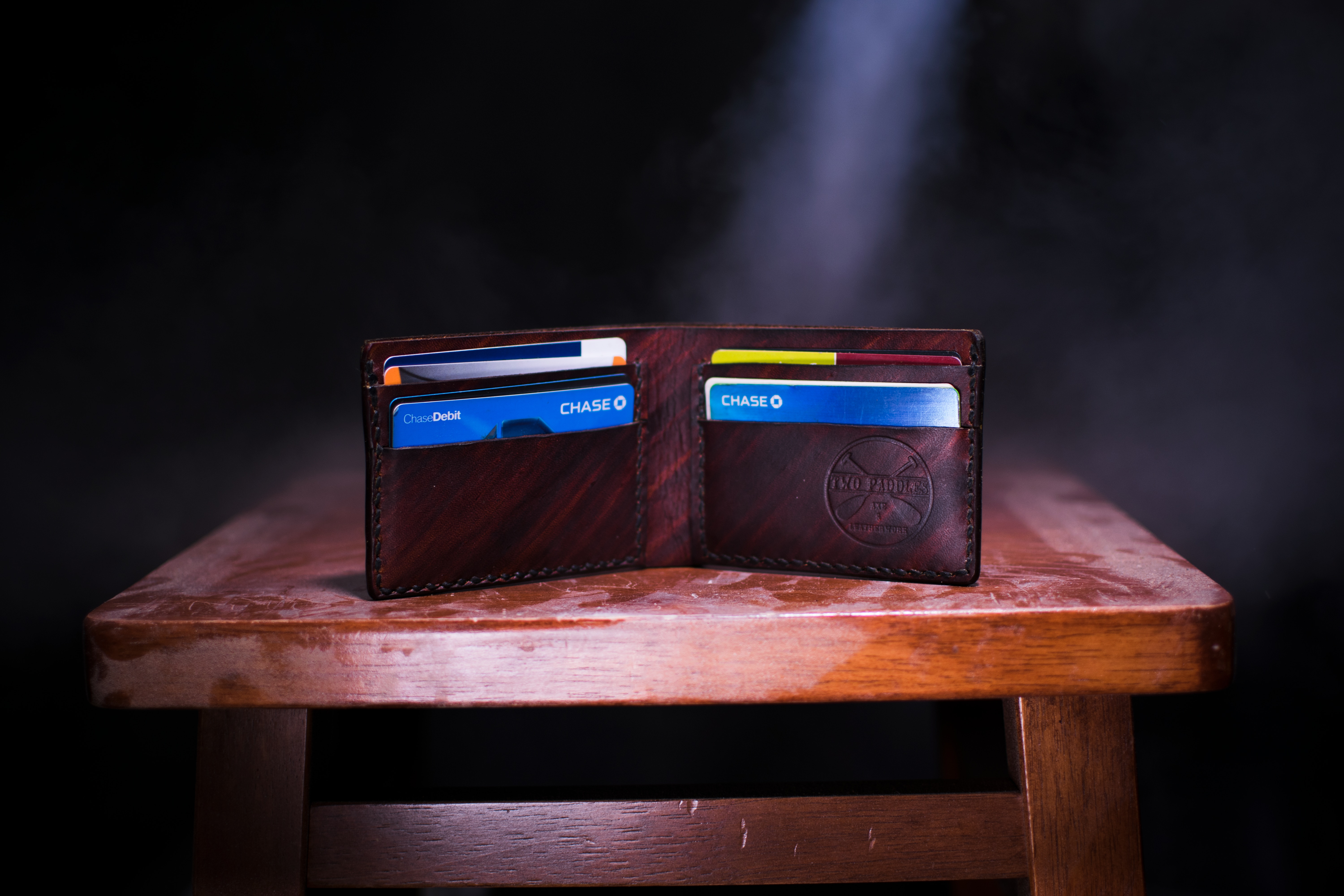 Set of credit cards