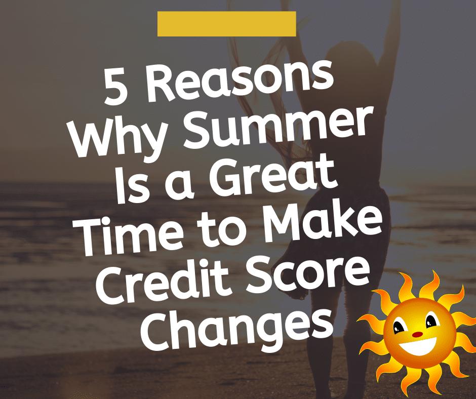 credit score changes