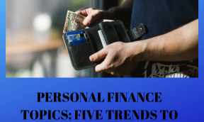 personal finance topics