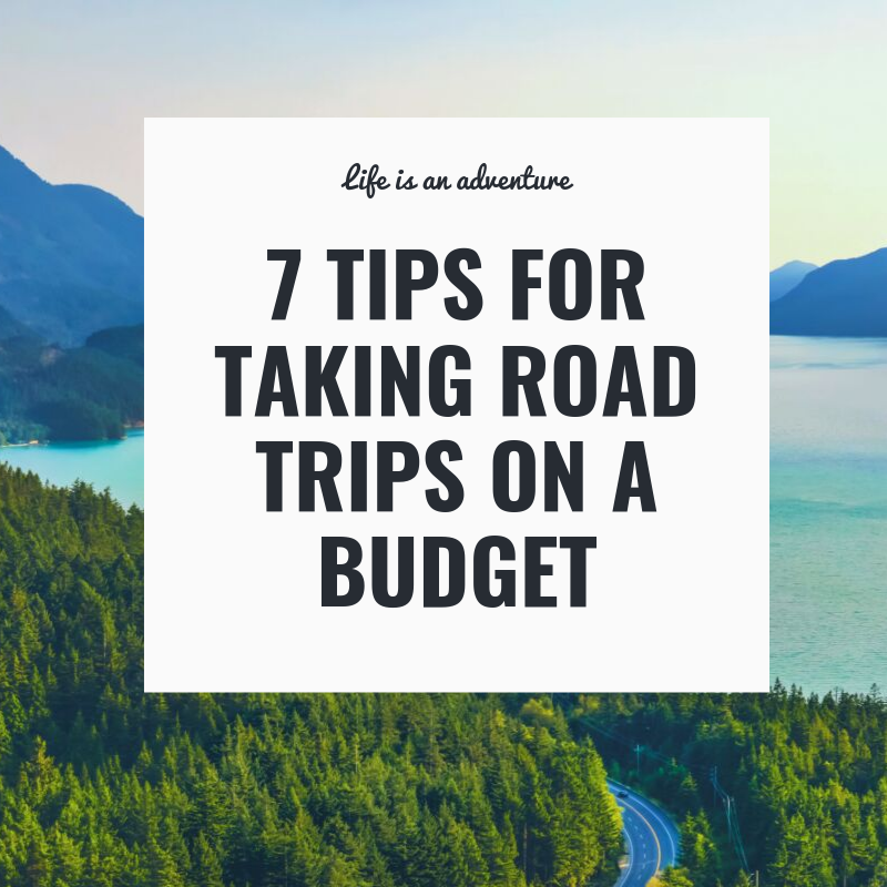 road trips on a budget
