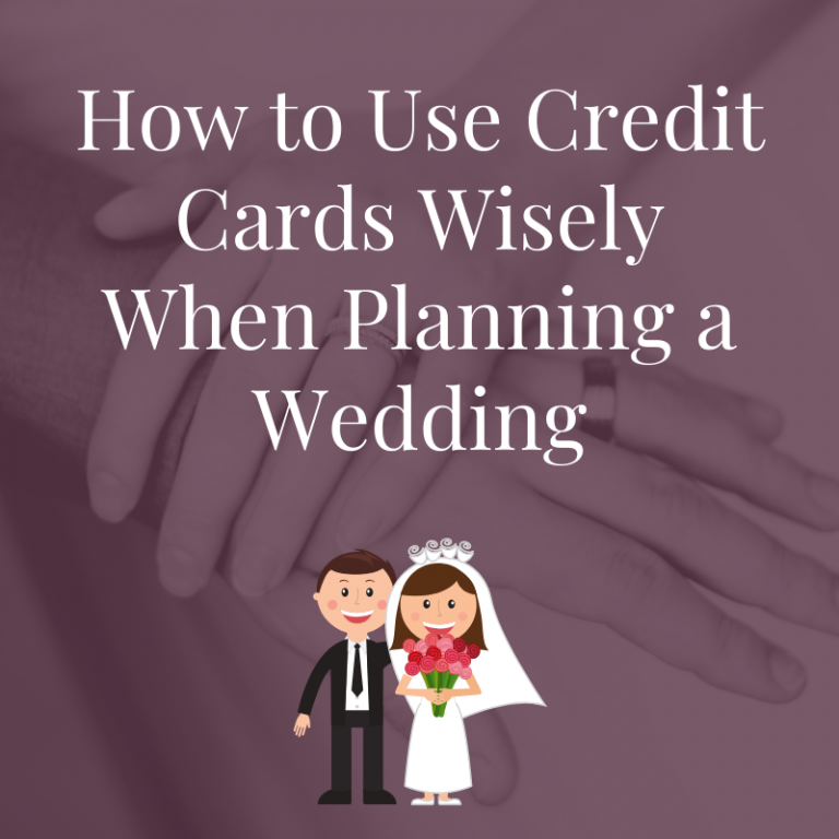 credit cards and weddings