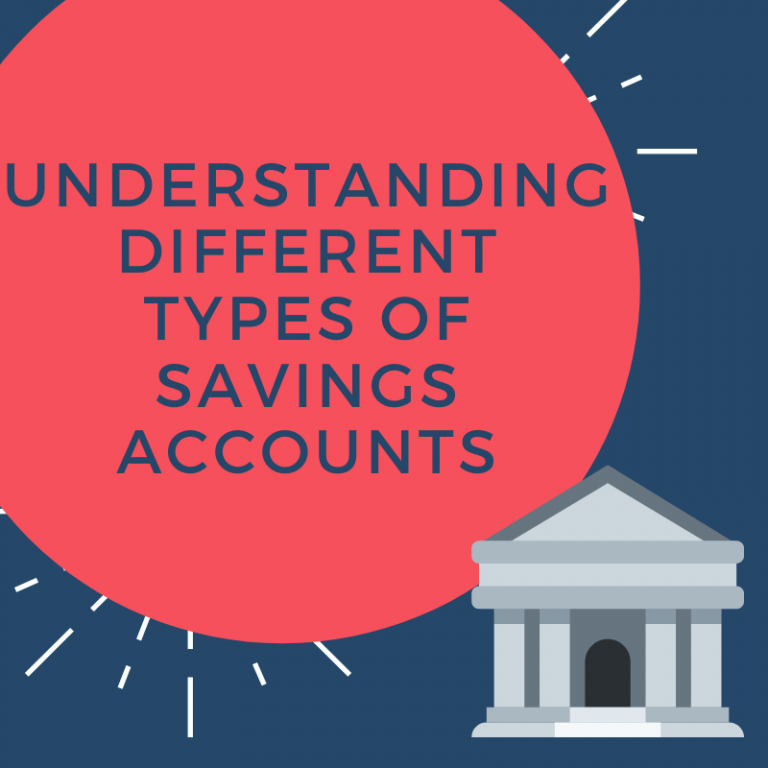 different types of savings accounts