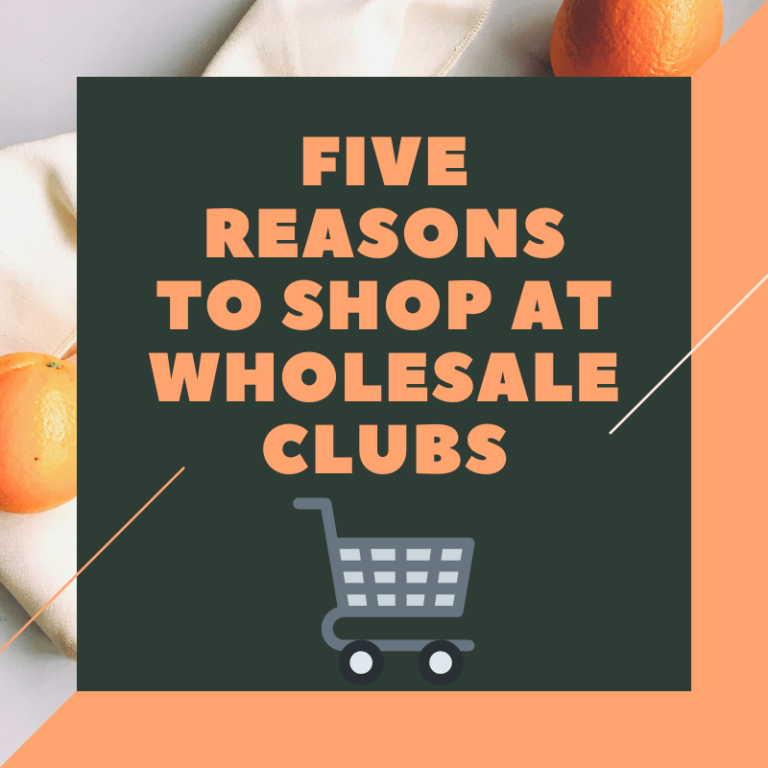 reasons to shop at wholesale clubs
