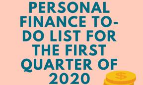 personal finance goals