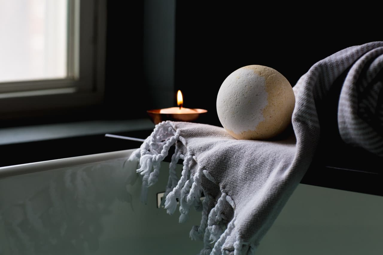 create a spa atmosphere at home