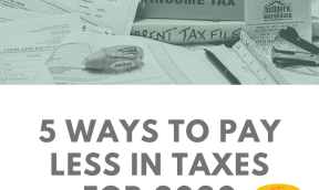pay less in taxes
